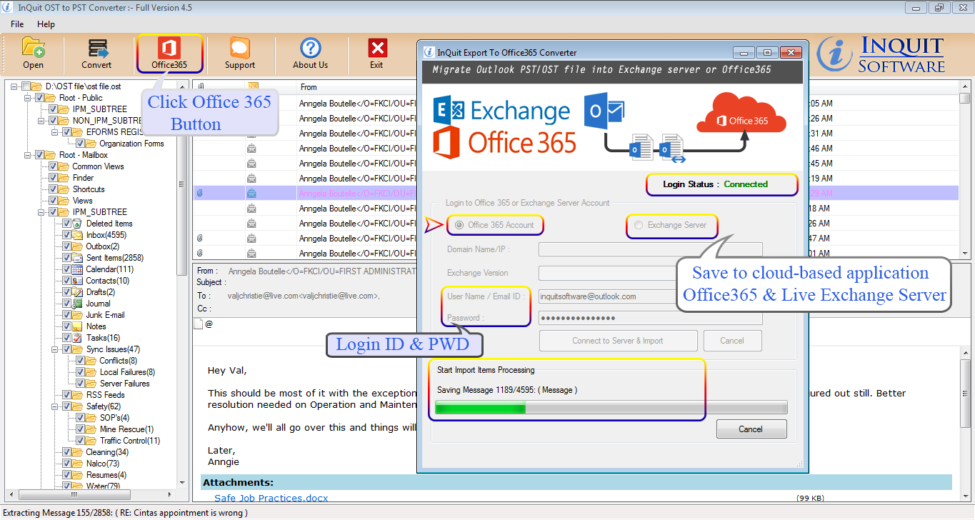 Free Best OST to PST Converter Software